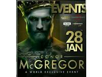 An experience with Conor McGregor - 3 tickets sitting together