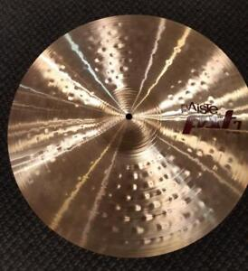 Cymbale Paiste PST7 Ride 20 usagée-used