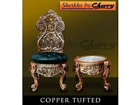 bedroom coffee chairs in wooden carved style hand made new