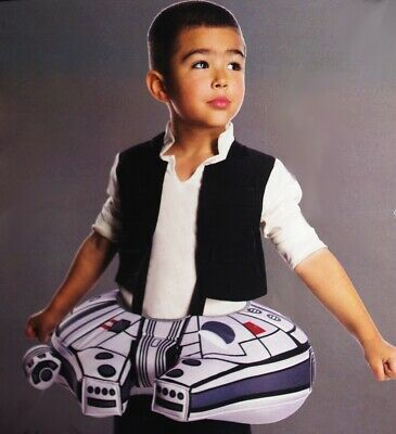 Star Wars Boys Toddler MILLENNIUM FALCON Halloween Costume Purim 2T 3T 3 4T  - New Falcon Kostüm