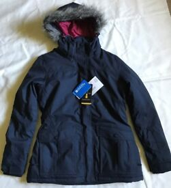 Woman's Mountain Warehouse Braddock Jacket Navy size 12 new with tags