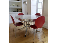 American Retro Diner table and 4 chairs