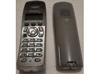 Panasonic KX-TCD222 Cordless Two Telephones & Answering Machine £10 OPEN TO OFFERS! FAULTY!