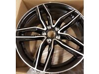 """18"""" RS6 Style Alloy Wheels Set for VW Audi"""