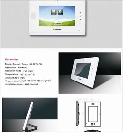 Wireless Video door entry system for Vila or home European plugs only