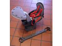 Weeride Centre Mounted 1-4yrs Childs Bike Seat - Good condition