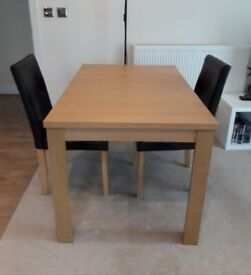 Dinning table, extendable