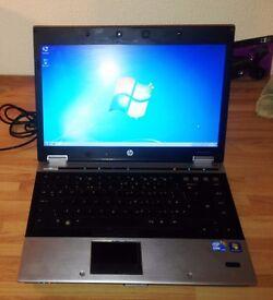 "HP EliteBook 8440p 14"" Laptop (250GB, Intel Core i5 quad @ 2.53GHz, 2GB"