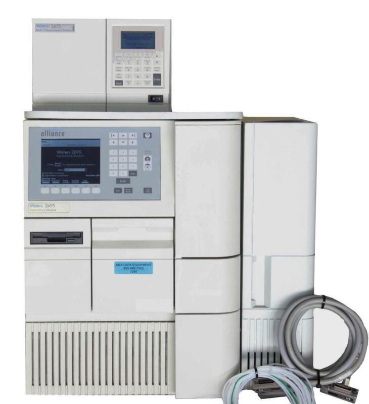 Waters 2695 Separations Module HPLC w/ 2475 Multi λ Fluorescence Detector (7255)
