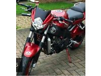 Kawasaki ninja 600 converted to streetfighter 1750 ono may px for enduro or.mx.bike not cr kx ktm t