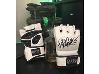 ULTRA MMA Limited Edition Randy Couture Signed Gloves