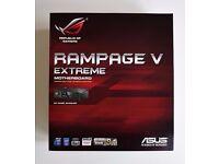 ASUS ROG RAMPAGE V EXTREME LGA 2011-v3, X99 Intel Motherboard