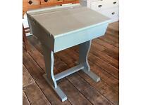 Painted School Desk- Vintage