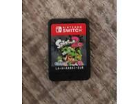 Splatoon Nintendo switch game