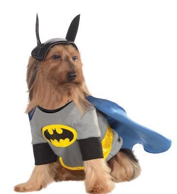 Pet Dog BATMAN Pet Outfit DC Heroes and Villains Collection (Batman Dog Outfit)