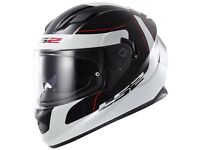 New LS2 FF320 Stream Lunar Motorcycle Helmet - £129.99