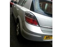 2007 VAUXHALL ASTRA CLUB DIESEL CDTI 100.. 1.7ENGINE..LOW TAX GROUP..LONG MOT..IMMACULATE BODY.5DR