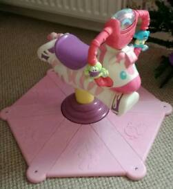 The Fisher-Price Bounce and Spin Zebra