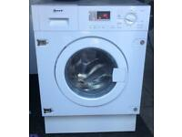 NEFF 8kg integrated washing machine 1400 spin £140 good condition