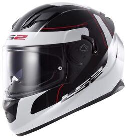 New LS2 FF320 Stream Lunar Motorcycle Helmet - £129.99