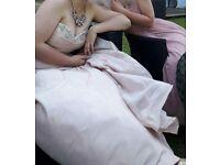 Blush Wedding Dress Size 12