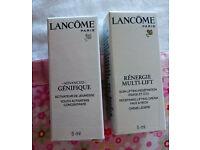Lancome Genefique serum 5ml & Renergie Multi-lift moisturiser 5ml