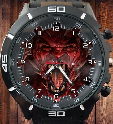 Demon Teufel Gesicht Satan Gt Serie Unisex Sport Stil Armbanduhr Unique Gift Hot
