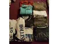 Bundle of mens clothes