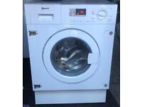 NEFF 8kg 1400 spin integrated washing machine £140 good condition