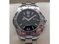 Tag Heuer Aquaracer Alarm Gents Watch WAF111Z **Buy Online**