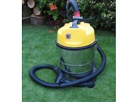 Industrial Vacuum Cleaner Wet & Dry Vac Powerful Stainless Steel