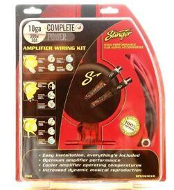 STINGER SPK56101R 10-GA COMPLETE AMPLIFIER WIRING KIT