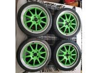 Rota gt3 alloy wheels 4x100