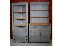 Kitchen Dresser Sideboard and Corner Annie Sloan Shabby Chic