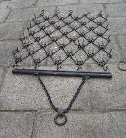 Three-way trailed chain harrow £160
