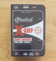 RADIAL X-AMP DUAL MODE AMP DRIVER FOR SALE