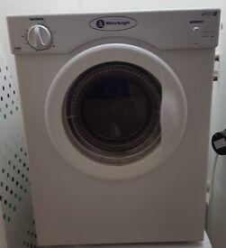 White knight tumble dryer - 3kg