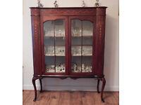 Excellent Victorian Mahogany Display Cabinet