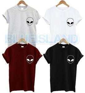 Poche T Shirt UFO Hipster haine amour Swag Blogger Tumblr Mode Unisexe