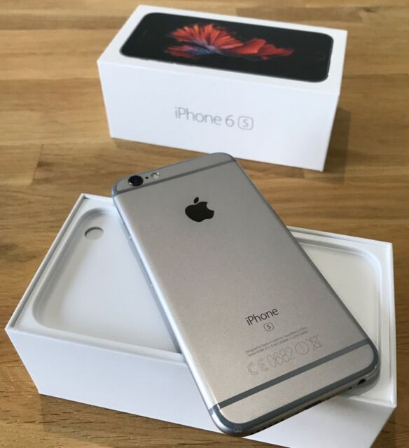 IPhone 6s 128 GB with box and all