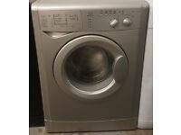 £120 Silver Indesit Washing Machine – 6 Months Warranty