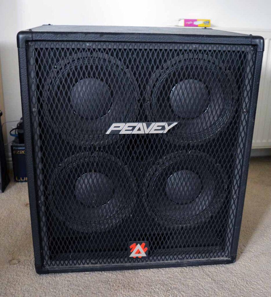 Peavey 410 TVX - 4x10 Bass Cab - 8ohm 700W | in Renfrew ...