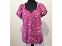 BRAND NEW - PRETTY LADIES TOP - SIZE 12 from M & S