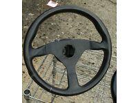 Momo car steering wheel. KBA 70068, TYP V35