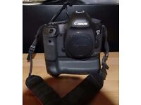 Canon EOS 5D mk3 Body with BIg Canon Battery Grip..