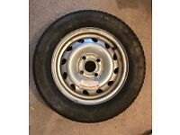 Corsa Spare Firestone Tyre and Wheel (1999 Envoy model)