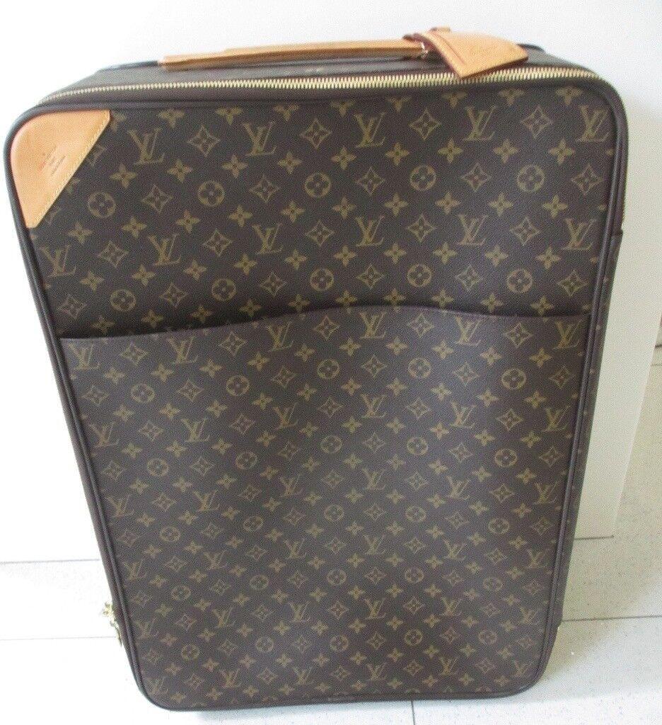 5e3351484888 Louis Vuitton Monogram - Pegase 60 Rolling Trolly Luggage  Suitcase G.C.