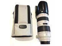 Canon 70-200mm L F2.8 (with original case, tripod ring, hood & caps)