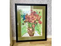 Extra Large Large Monet Print poster size