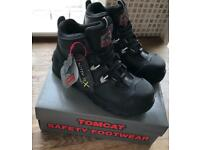 Mens TOMCAT PEAKMOOR (TC42000A) Work Boots - Black - Size 7 - BRAND NEW, BOXED